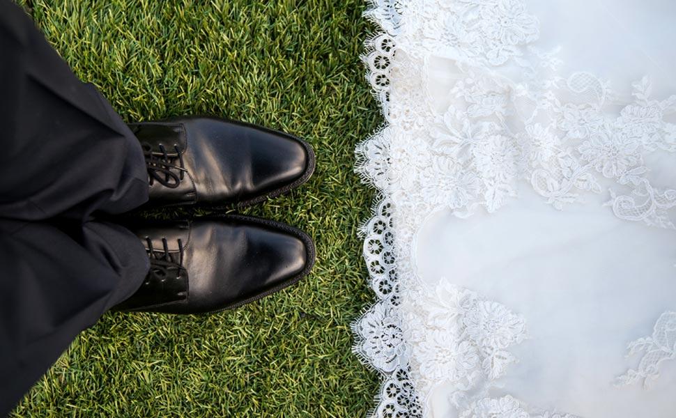 scarpe per lo sposo